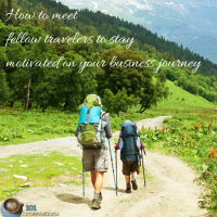 How to meet fellow travelers to stay motivated on your business journey